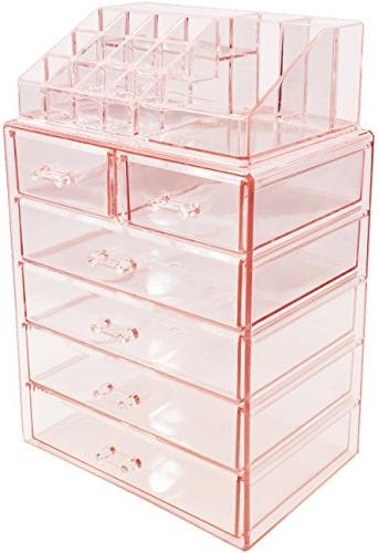 Sorbus Cosmetic and Storage Case Display,