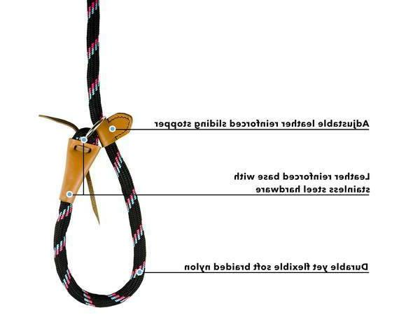 Adjustable Leash Super Duper Soft Handle 6 Ft by