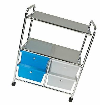 Mind Utility Cart and Silver