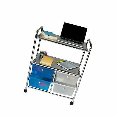 Mind Utility Cart and 4 Storage Silver