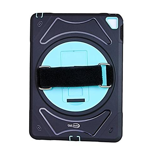 Cellular360 iPad 9.7 Rugged Shockproof with 360 Swivel and a Handle