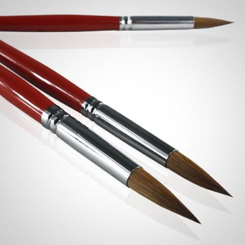 Artist Paint Brushes Top Long Brush Set For Acrylic Oil The Natural Characteristics of the Excellent Paint Holding Capacity and Easy Flow