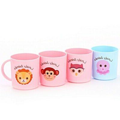 Baby Drinking Cups Cartoon Drinking With Handle