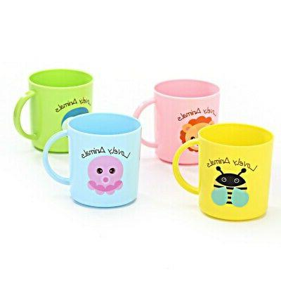 Baby Cups Cartoon Print Drinking
