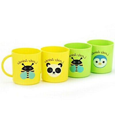 Baby Kids Plastic Cups Resuable Drinking With