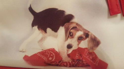Beagle Dog Makeup With Handle on top and Shoulder