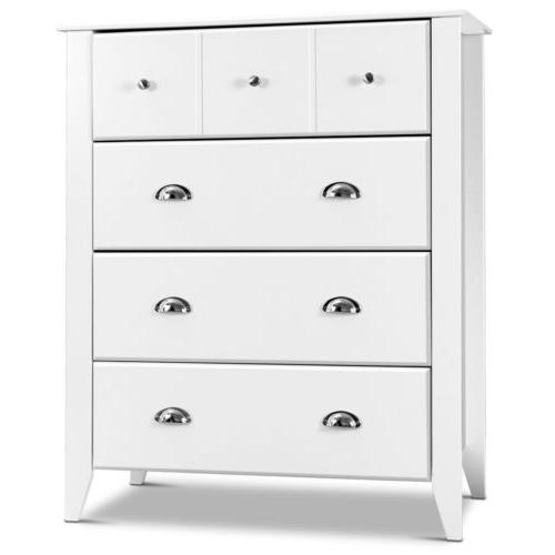 Bedroom Classic Chest Cabinet Storage Drawers Metal