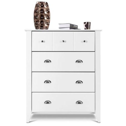 Bedroom Chest Cabinet With Drawers Metal Handles