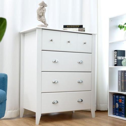 Bedroom Classic Chest Cabinet With Drawers Handles