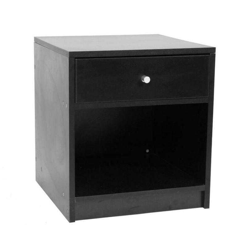 Black One Drawer