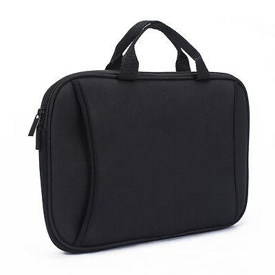 black tablet carry case bag with handle