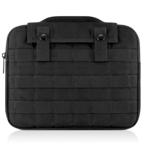 """Black Tablet Case Netbook with Handle to 10"""" Tablets"""