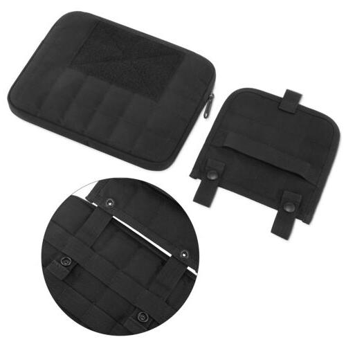 """Black Tactical Case with Handle Fits to 10"""""""