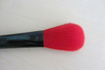Lancome #6 with red bristles and long black handle