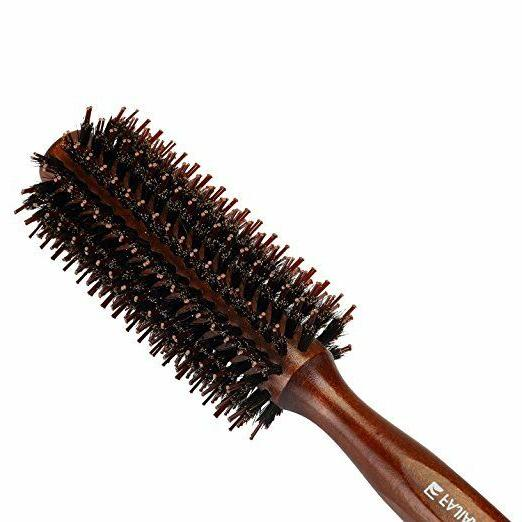 Boar Bristles With Wood Comb, 2.2-Inch