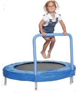 "Bazoongi 48"" Bouncer Trampoline with Handle Bar by Bazoongi"