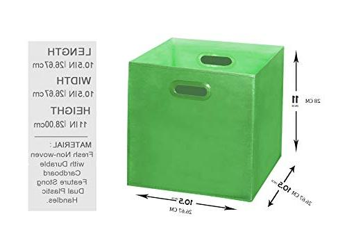 Bins Handles, Containers, Boxes, Baskets| Collapsible Cubes Organization | Cardboard,Nursery