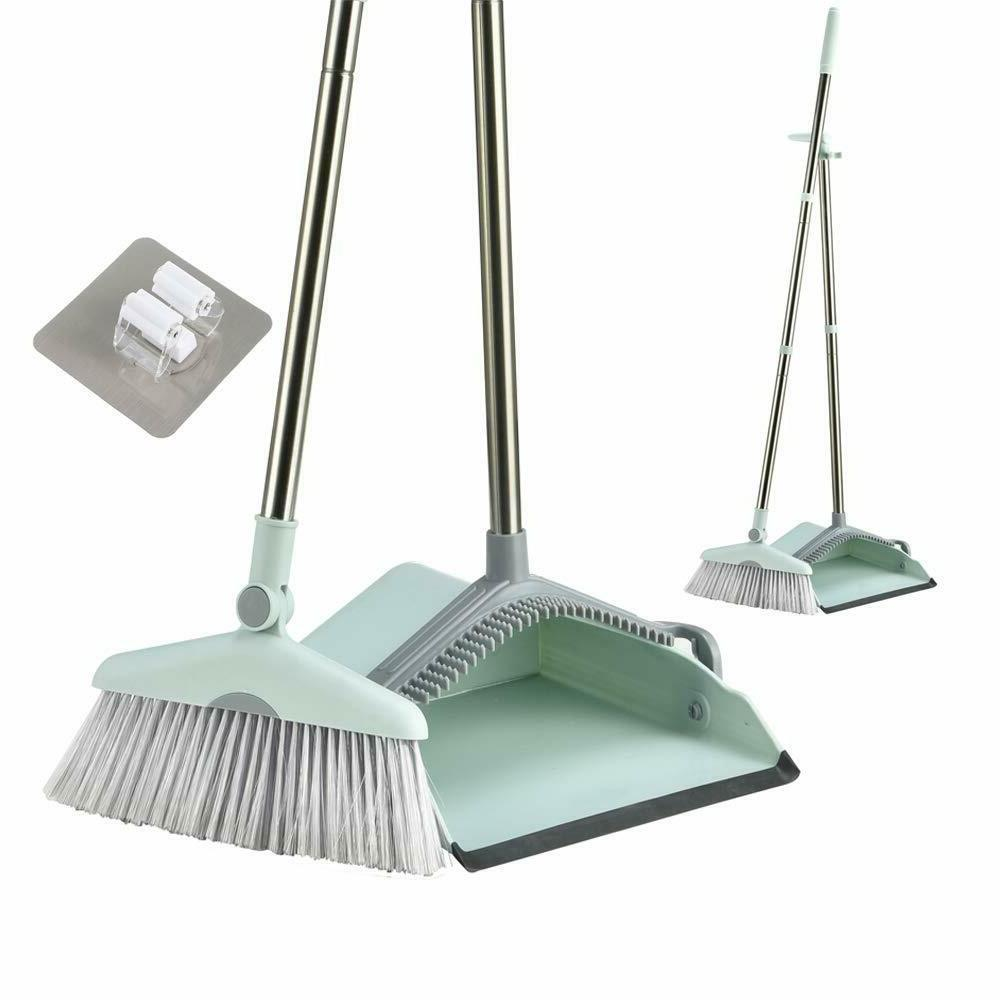 Broom Dust Pan Set for Use Stand Dustpan