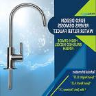 Brushed Nickel Euro Designer RO Water Faucet for Any RO Unit