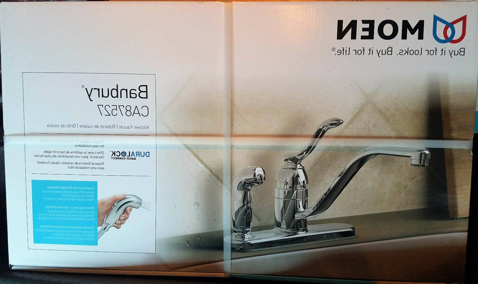 Moen CA87527 Faucet with Spray from the Collection,