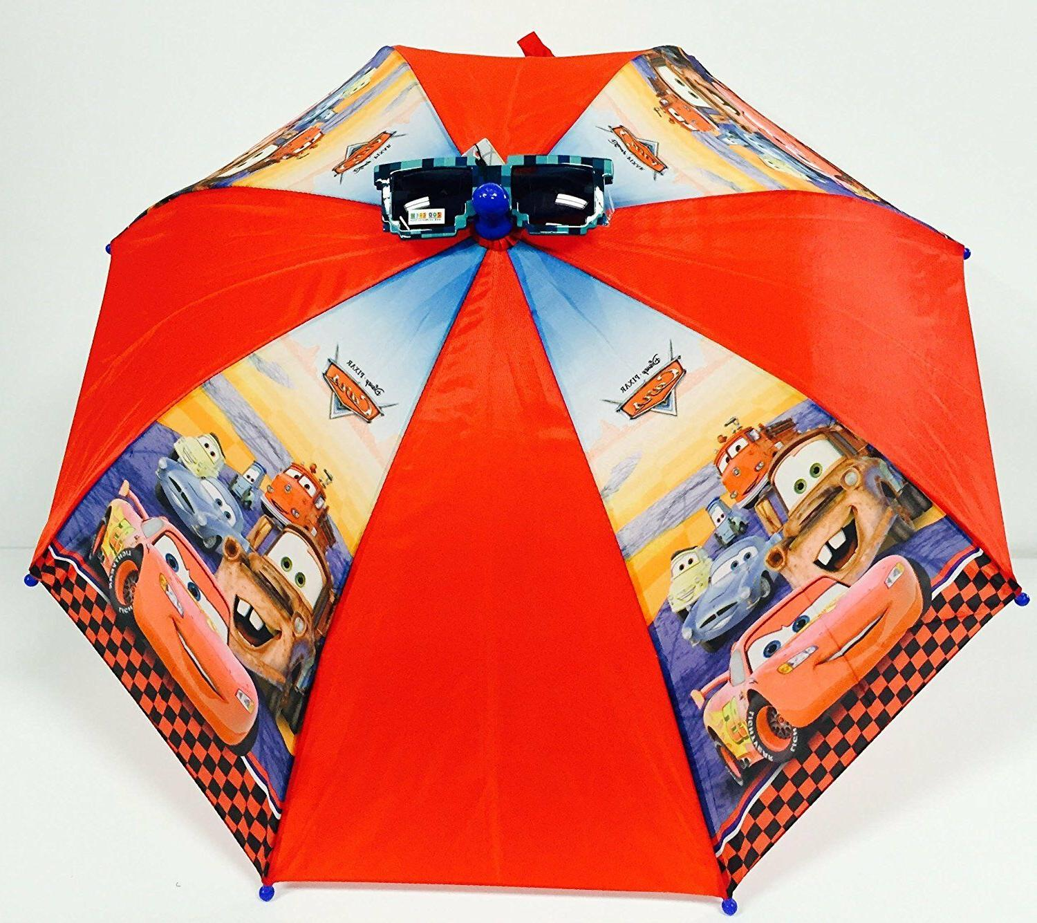 cars umbrella with cars icon handle brand