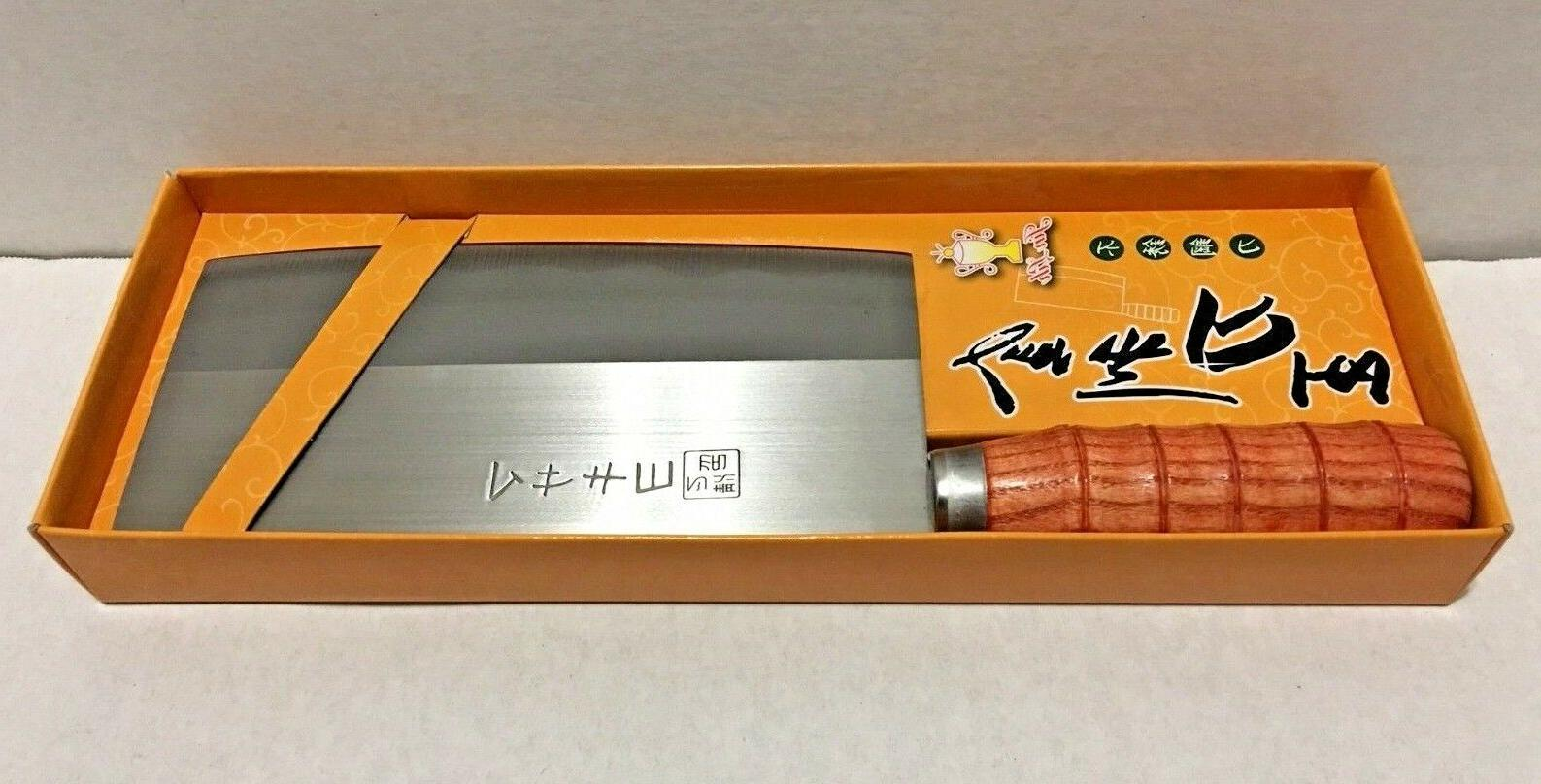 """Chinese Cleaver Professional Knife 11.5"""" x 3.5"""" with handle Jin Lin"""