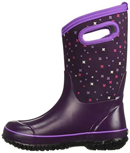 Bogs High Waterproof Insulated Boot Snow, Multi, 3 Little