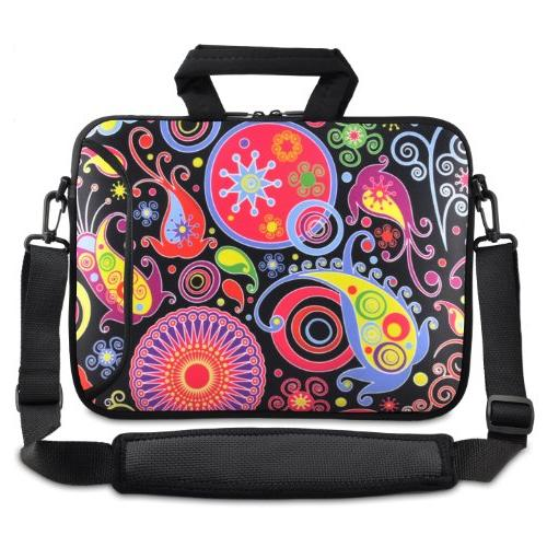 colorful paisley inch laptop netbook