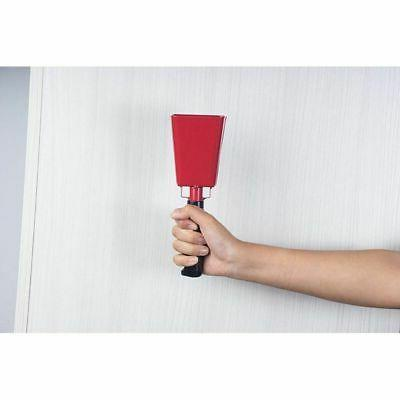 Cowbell with Handle Cow Bell Call Red