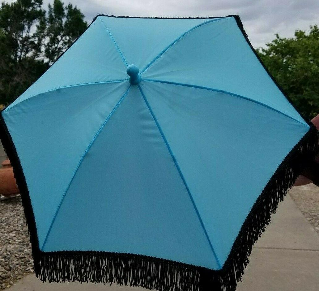 Decorated Parasol with Painted
