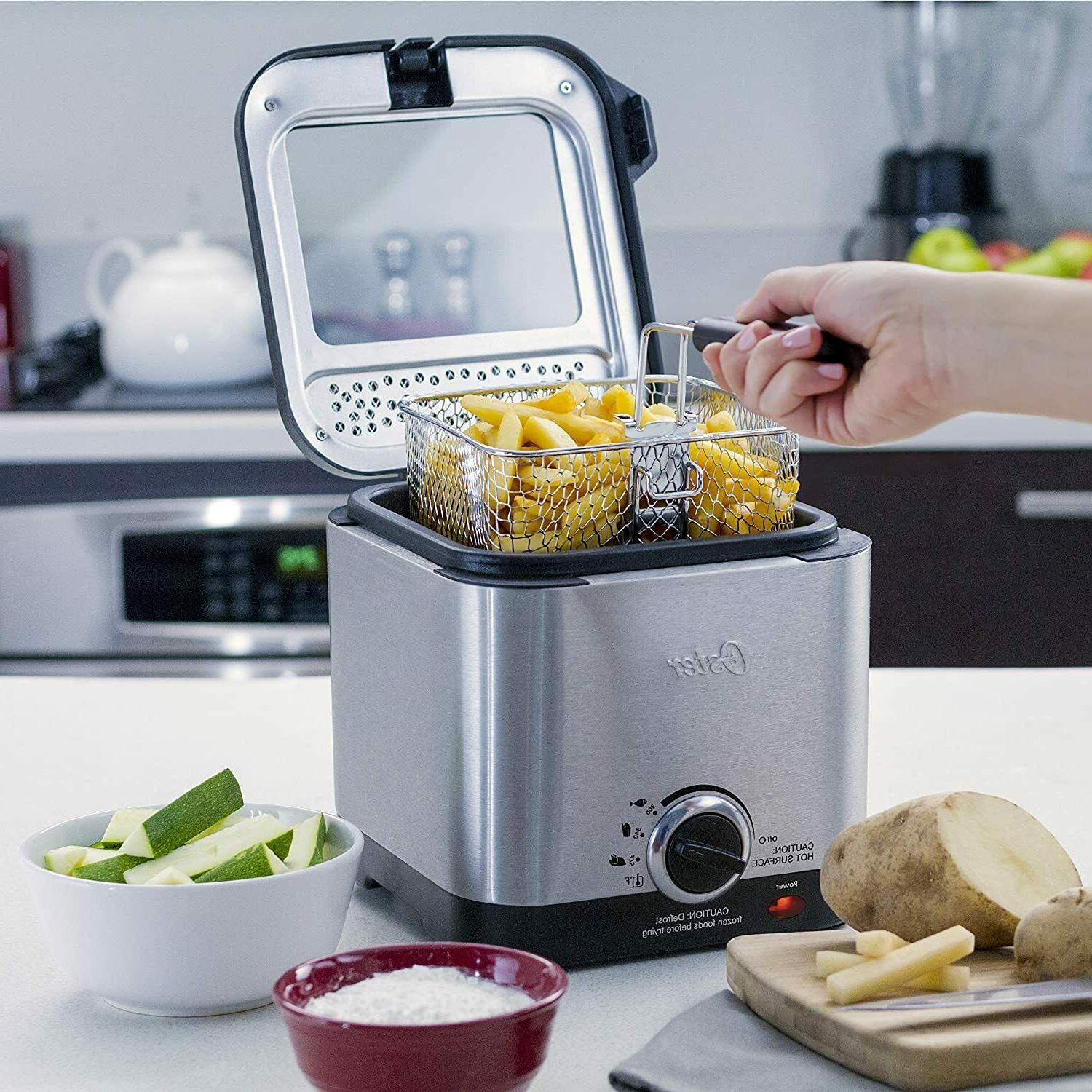 Deep Fryer 1.5 Style Fryer Stainless