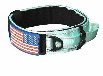 dog collar with control handle military style