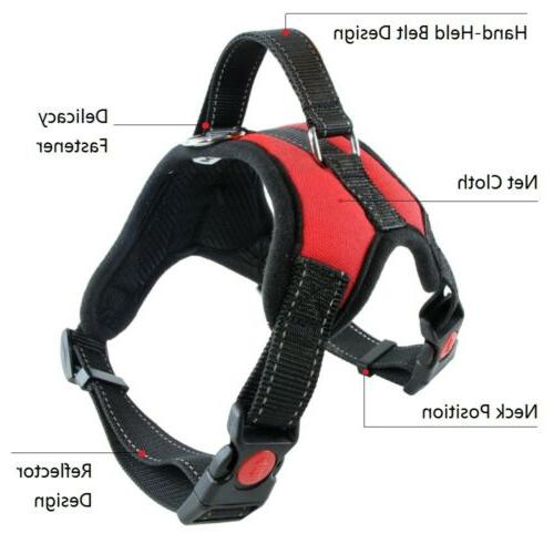 Dog No Pull Adjustable Reflective with Handle Dogs