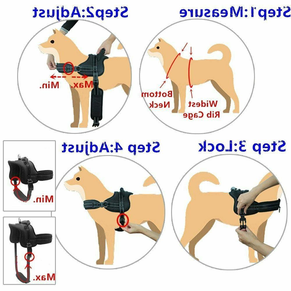 Mihachi Dog Harness Handle No Pull Harness