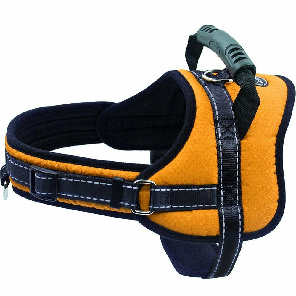 Mihachi with Handle Pull No Chock Adjustable Vest Harness