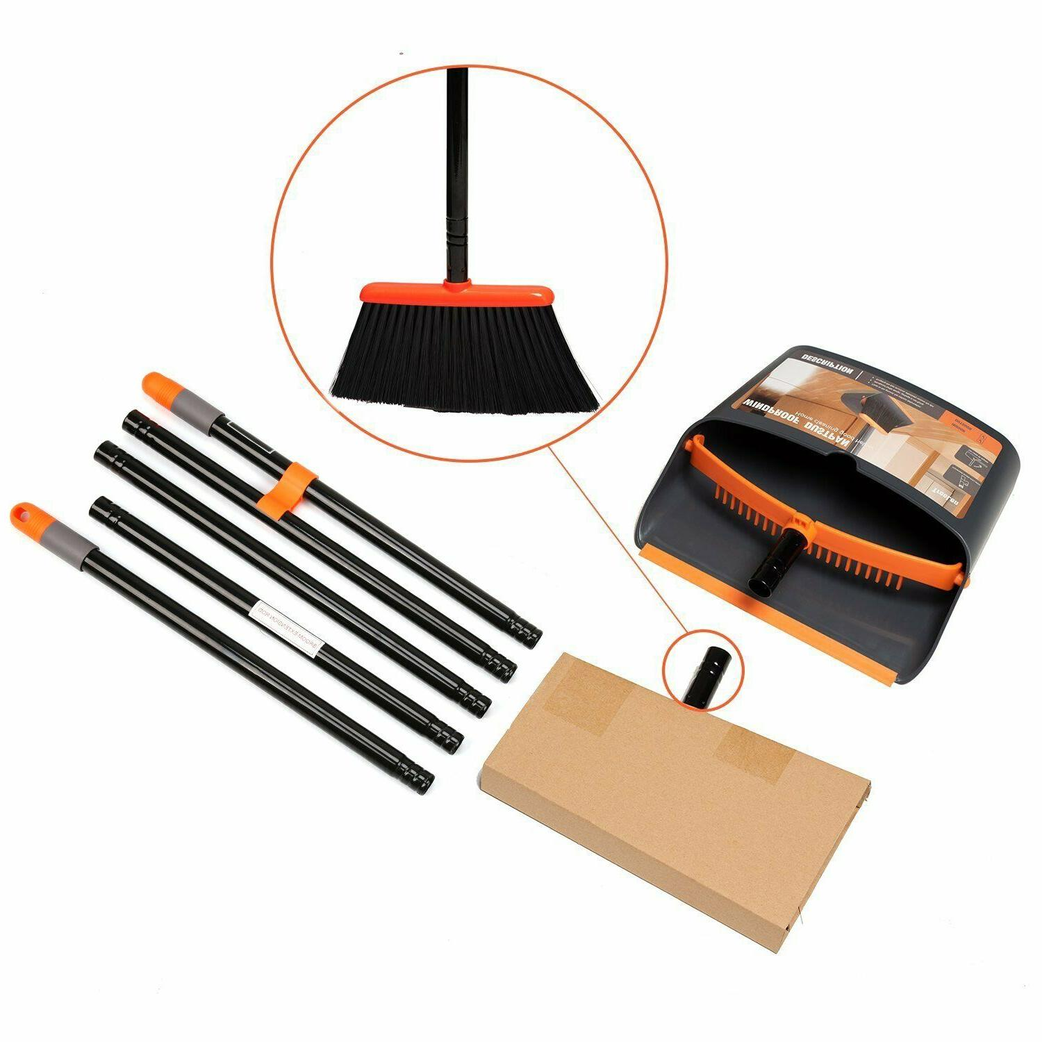 Dust Pan and Broom/ Dustpan Cleans with Home Kitchen
