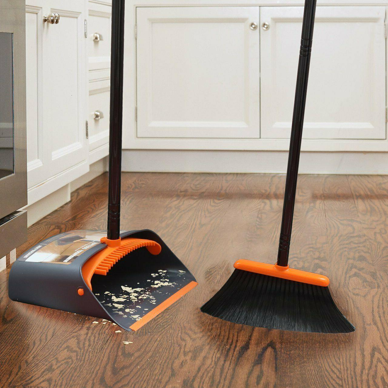 Dust and Dustpan Combo with Home