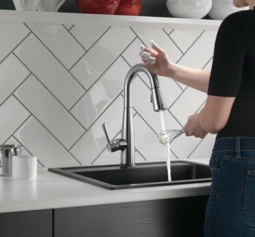 Delta Touch2O Bar Faucet, Arctic **SEE