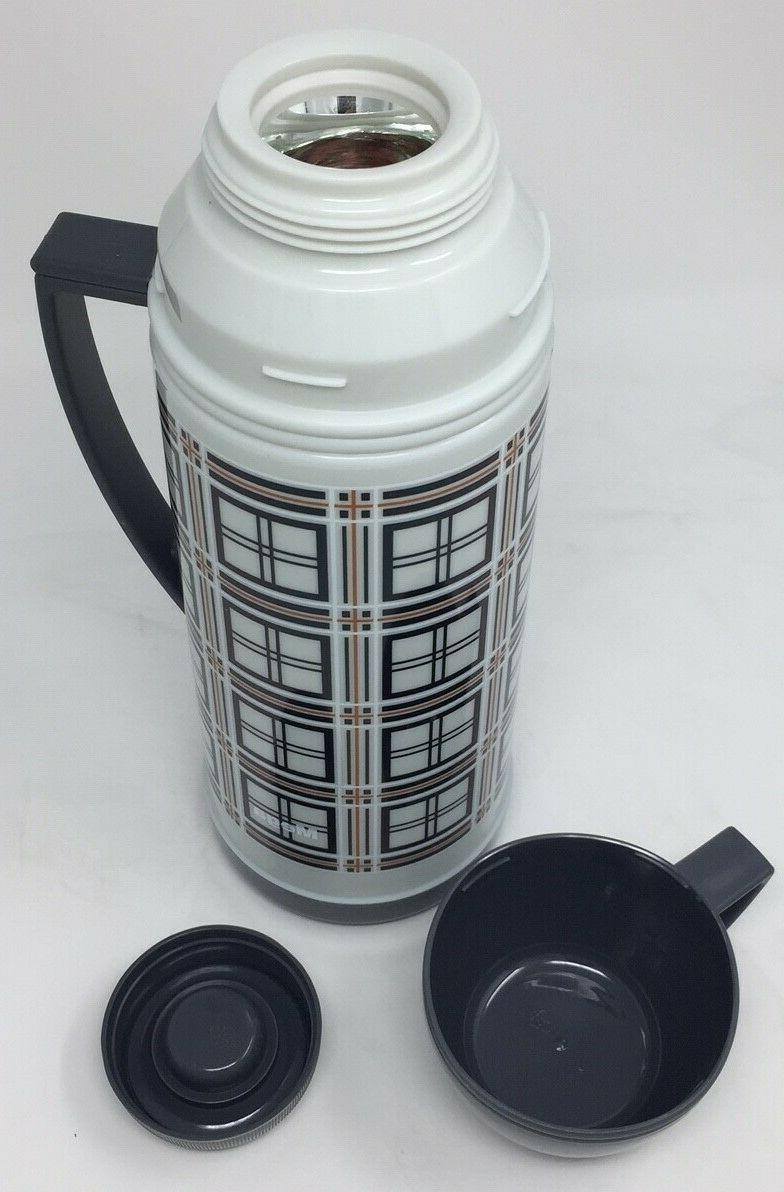 MEGA Thermos with Handle Plaid