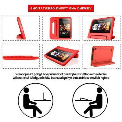 """EVA Handle Kids Stand Cover Protector Amazon Fire 7"""""""