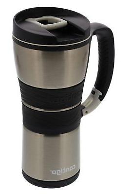 Contigo Extreme Travel Mug with Handle, 16oz - Stainless Steel