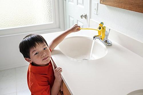 Aqueduck Faucet Handle A Fun Kid Solution. Connects to Make Hands Fun Baby or