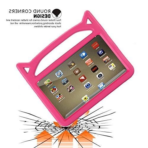 Fire Tablet - Riaour Proof Protective Cover Case for Tablet