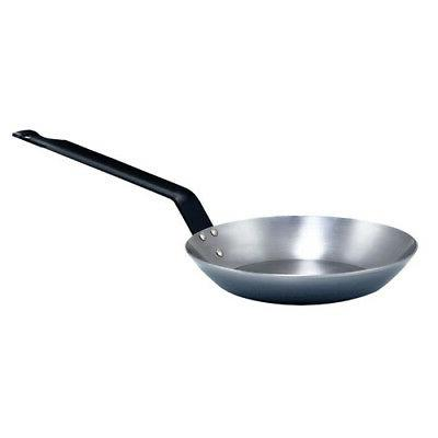 french style polished carbon steel fry pan