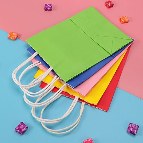 TOYMYTOY Gift Bags with Handle Favor Bag,20pcs,Mix