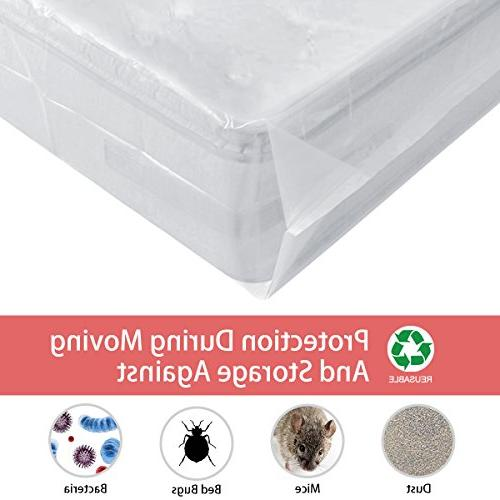 BYSURE Mil Super Thick Mattress for Moving Term Storage, Fits