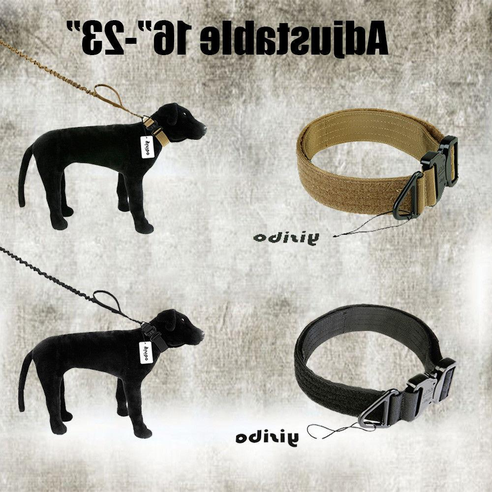 HEAVY Dog Collar with Buckle Large