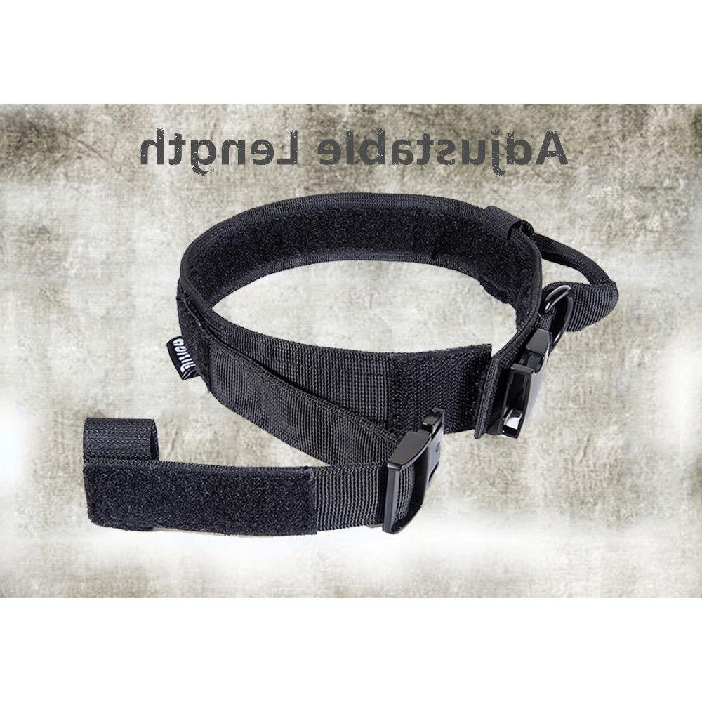 HEAVY DUTY Tactical Dog Collar with Buckle