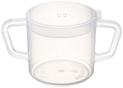 Sammons Independence Two-Handled Cup Lightweight Drinking Easy-to-Grasp & Cold Adult Sippy Free Mug,