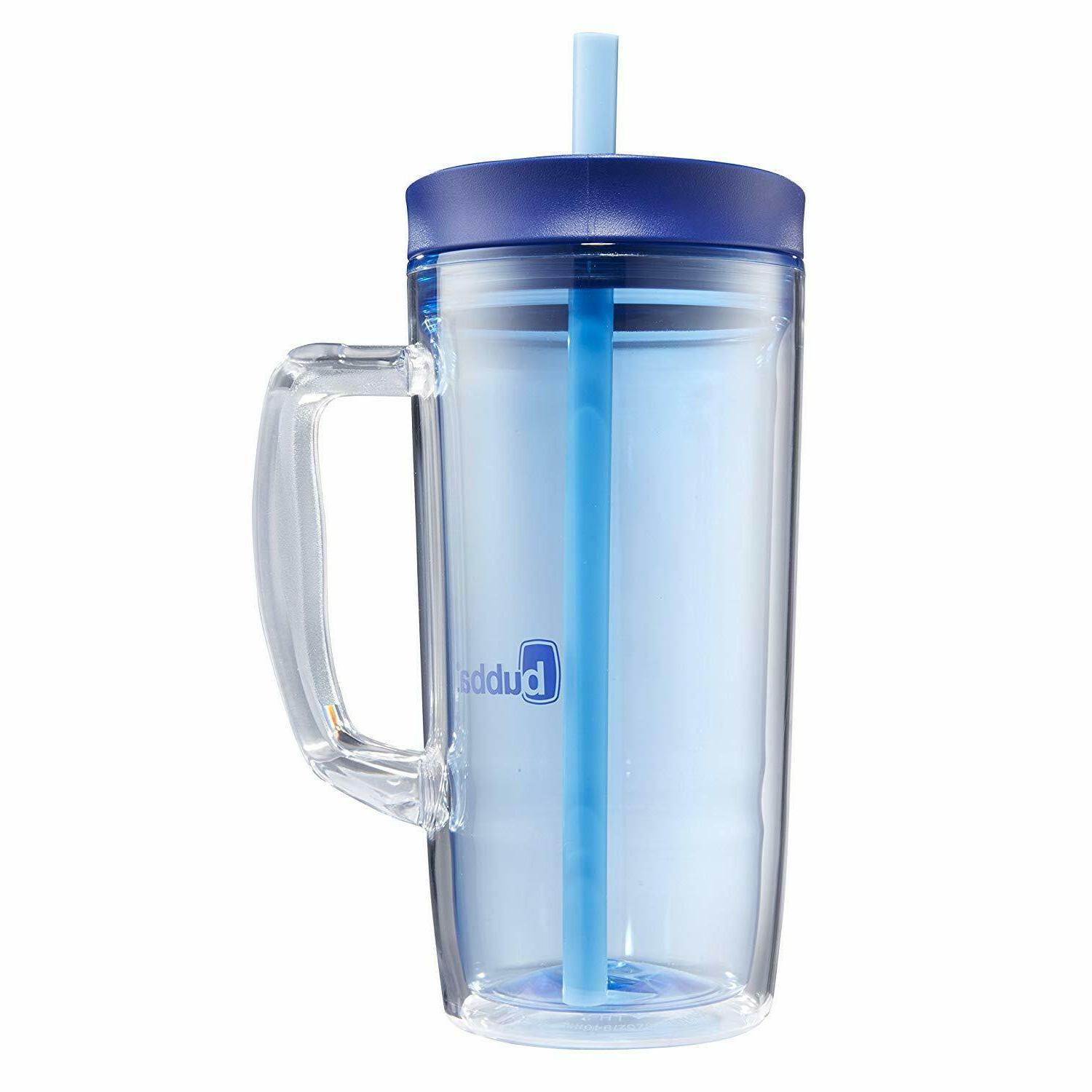 insulated straw tumbler with handle 32 oz